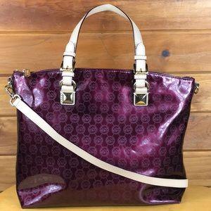 Michael Kors 🌹Patent Leather Convertible Tote Bag